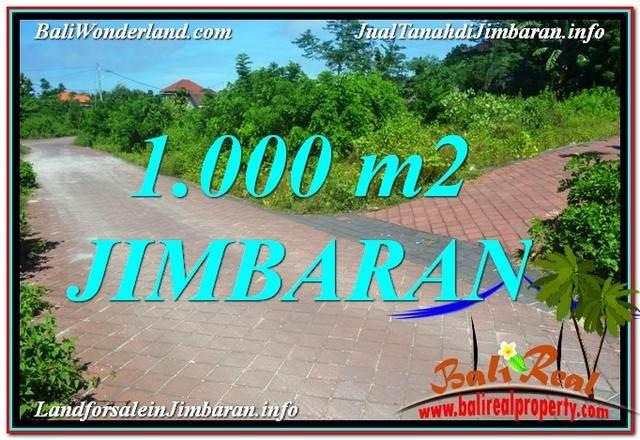 JIMBARAN 1,000 m2 LAND FOR SALE TJJI111