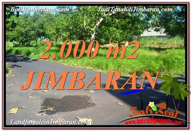 Magnificent 2,000 m2 LAND IN JIMBARAN BALI FOR SALE TJJI114