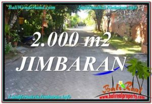 Exotic 2,000 m2 LAND FOR SALE IN JIMBARAN TJJI115