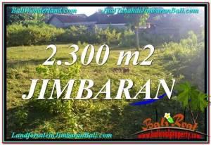 FOR SALE Beautiful PROPERTY 2,300 m2 LAND IN JIMBARAN BALI TJJI117