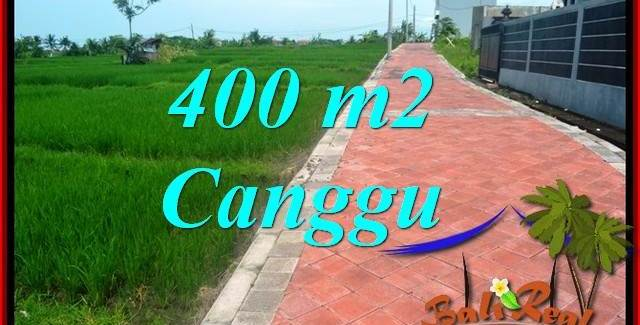 Affordable Canggu Pererenan 400 m2 LAND FOR SALE TJCG219