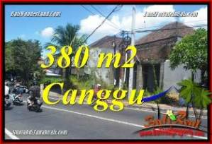 Beautiful PROPERTY CANGGU BALI 380 m2 LAND FOR SALE TJCG226