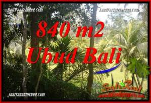 Ubud Bali 840 m2 Land for sale TJUB685