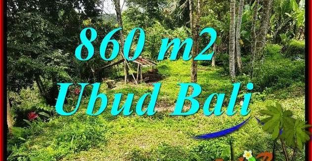 FOR sale Beautiful Land in Ubud Bali TJUB691