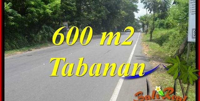 Beautiful Property 600 m2 Land sale in Tabanan Kerambitan Bali TJTB401