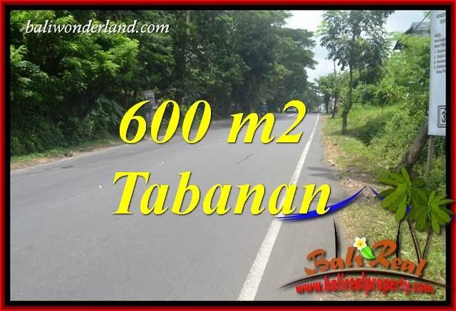 Beautiful Property Tabanan Kerambitan 600 m2 Land for sale TJTB401