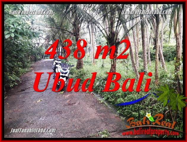 FOR sale 438 m2 Land in Ubud Bali TJUB689