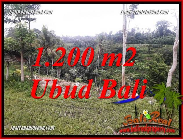 Magnificent Ubud Bali 1,200 m2 Land for sale TJUB699