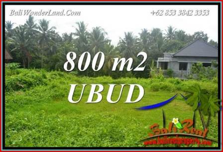 Beautiful Land in Ubud Bali for sale TJUB706