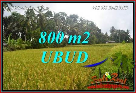 Affordable Land for sale in Ubud Bali TJUB707