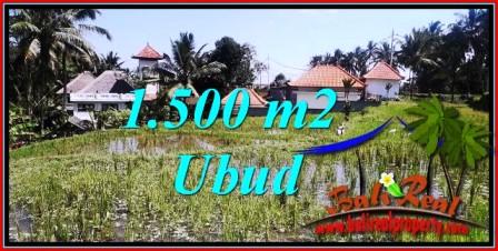 Magnificent PROPERTY UBUD BALI LAND FOR SALE TJUB744