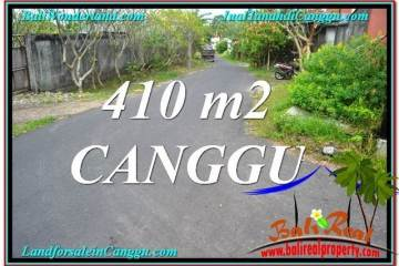 410 m2 LAND SALE IN Canggu Pererenan BALI TJCG216