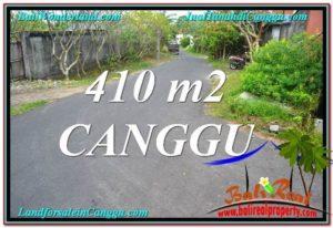 FOR SALE Beautiful 410 m2 LAND IN CANGGU TJCG216