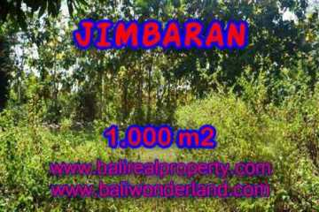Magnificent Jimbaran Ungasan LAND FOR SALE TJJI071