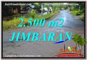 Jimbaran Ungasan 2,500 m2 LAND FOR SALE TJJI118
