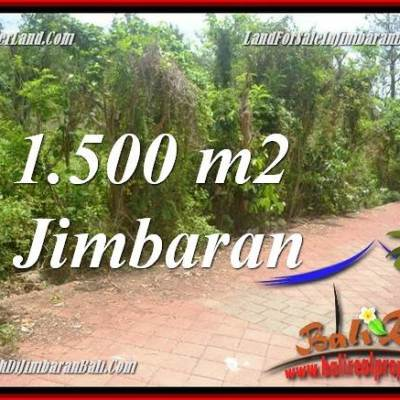 Exotic PROPERTY JIMBARAN 1,500 m2 LAND FOR SALE TJJI128