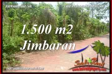 Magnificent PROPERTY 1,500 m2 LAND SALE IN JIMBARAN TJJI128