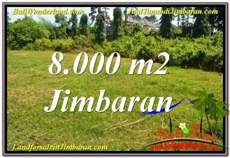 Exotic PROPERTY 8,000 m2 LAND SALE IN JIMBARAN BALI TJJI109