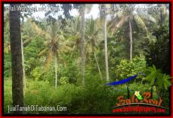 Magnificent PROPERTY TABANAN BALI 1,300 m2 LAND FOR SALE TJTB314