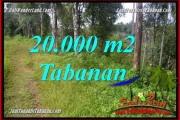 Exotic PROPERTY LAND IN TABANAN BALI FOR SALE TJTB365