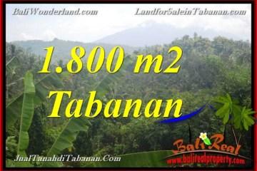 Exotic PROPERTY 1,800 m2 LAND SALE IN TABANAN TJTB379