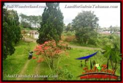 Affordable PROPERTY 750 m2 LAND IN TABANAN BALI FOR SALE TJTB370
