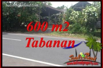Beautiful 600 m2 Land for sale in Tabanan Selemadeg TJTB400