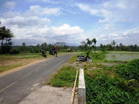 Land in Ubud for sale 2,700 m2 Stunning mountain view