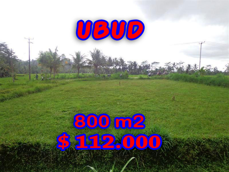 Land for sale in Ubud Bali, Magnificent view in Ubud Tampak Siring – TJUB284