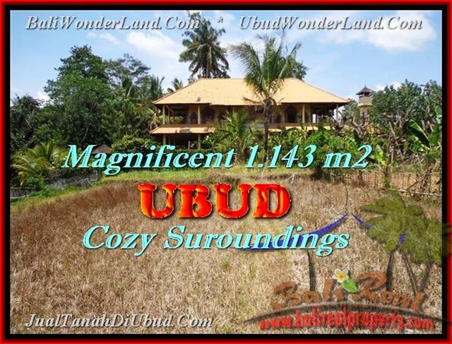Exotic 1.143 m2 LAND FOR SALE IN Sentral Ubud TJUB460