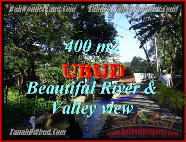 Magnificent 400 m2 LAND IN UBUD BALI FOR SALE TJUB425