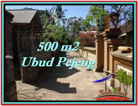 Magnificent PROPERTY Ubud Pejeng 500 m2 LAND FOR SALE TJUB515