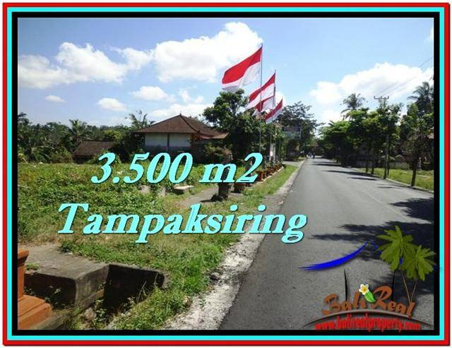Beautiful PROPERTY 3,500 m2 LAND SALE IN Ubud Tampak Siring TJUB517
