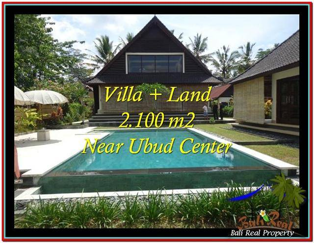 Magnificent PROPERTY 2,190 m2 LAND SALE IN Ubud Pejeng TJUB530