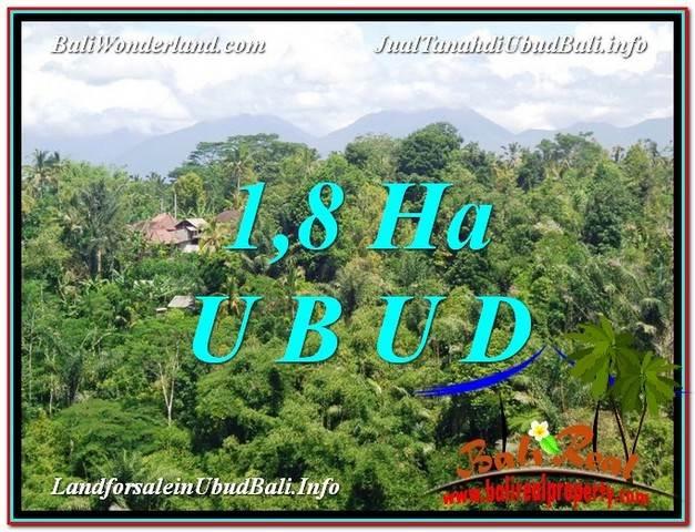 Exotic PROPERTY UBUD LAND FOR SALE TJUB589