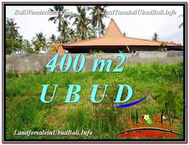 Exotic PROPERTY Sentral Ubud 400 m2 LAND FOR SALE TJUB585