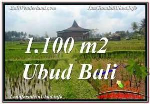 Beautiful 1,100 m2 LAND FOR SALE IN SENTRAL UBUD TJUB670