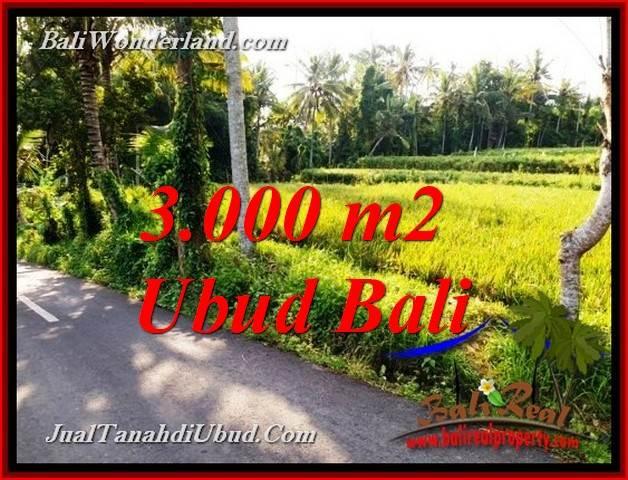 Exotic 3,000 m2 LAND SALE IN UBUD BALI TJUB771