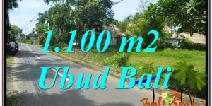 1,100 m2 LAND FOR SALE IN UBUD BALI TJUB645