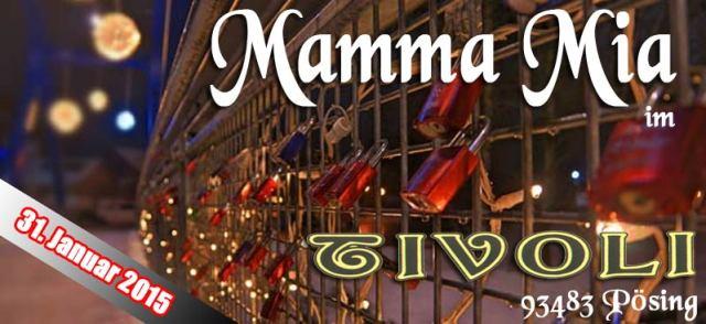 Mamma Mia am 31. Januar 2015 im Tivoli