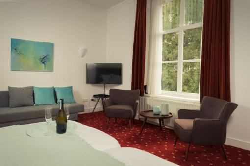Kamer 3 Huis Magerhorst € 130,- per nacht
