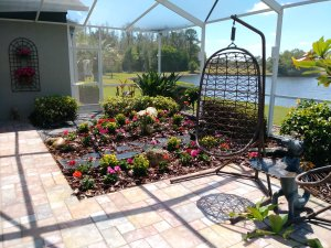 sunroom patio garden
