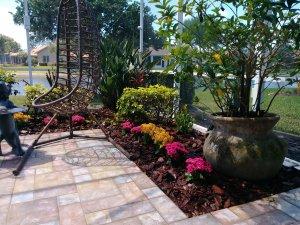 sunroom garden
