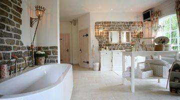 Badezimmer im Landhausstil LANDHAUSSTYLE – Mode Wohnen ...