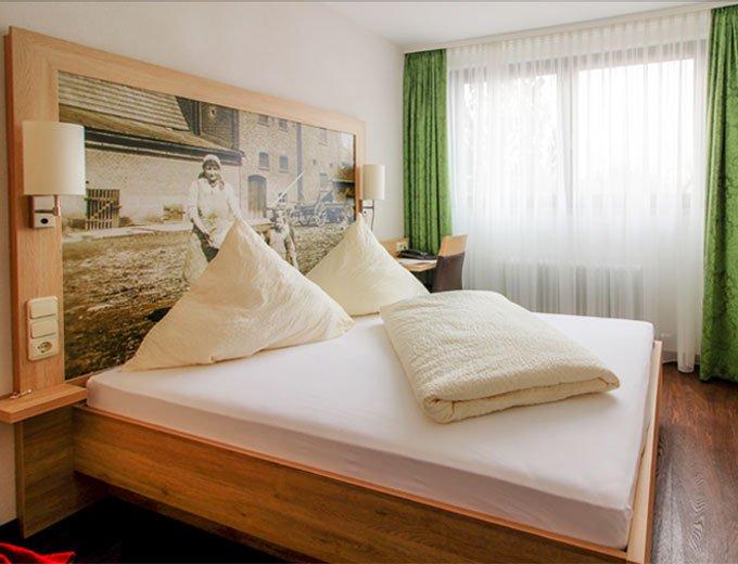 Doppelbettzimmer im Hotel
