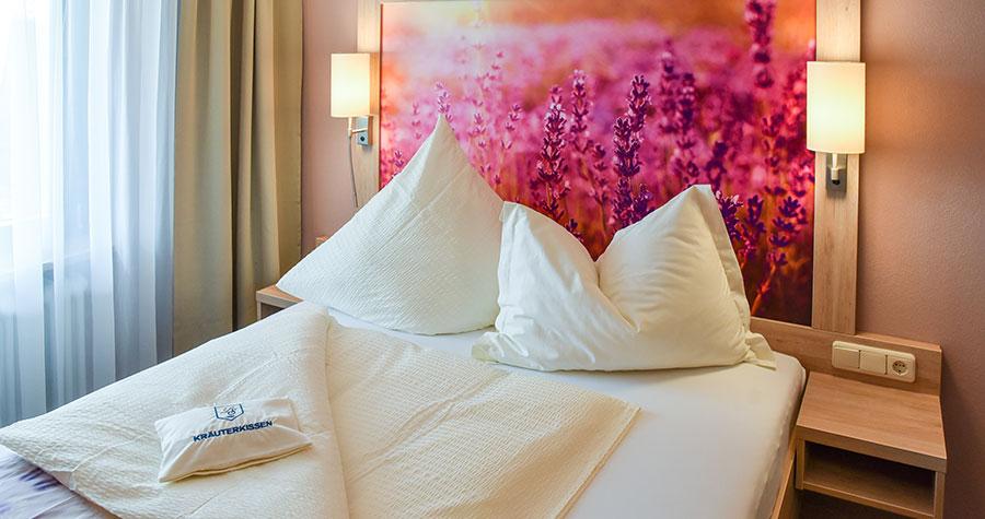Einzelzimmer im Hotel