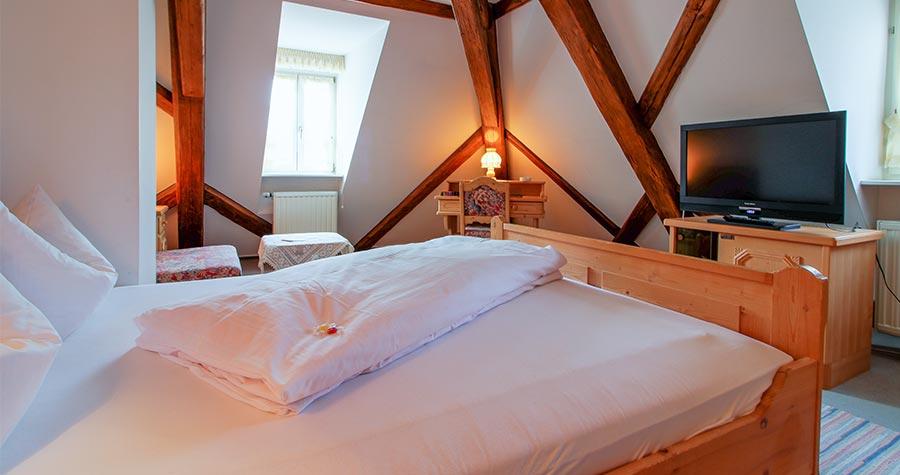 Doppelzimmer im Brauhof Gewölbe