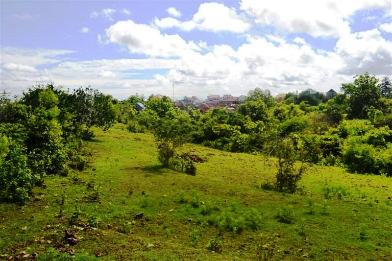 Land for sale in Jimbaran Bali 5,000 m2 with Hill view
