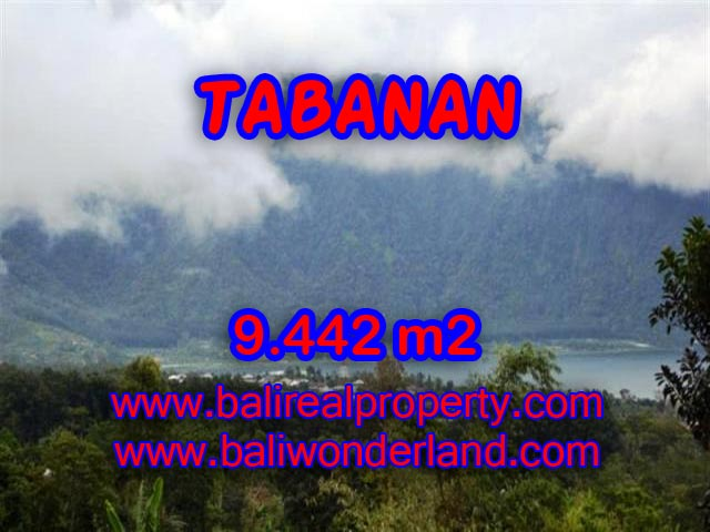 Land in Tabanan Bali for sale, fantastic Mountain and lake view in TABANAN BEDUGUL – TJTB081