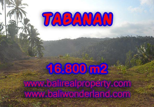Land in Tabanan for sale, Stunning view in SELEMADEG TABANAN Bali – TJTB075